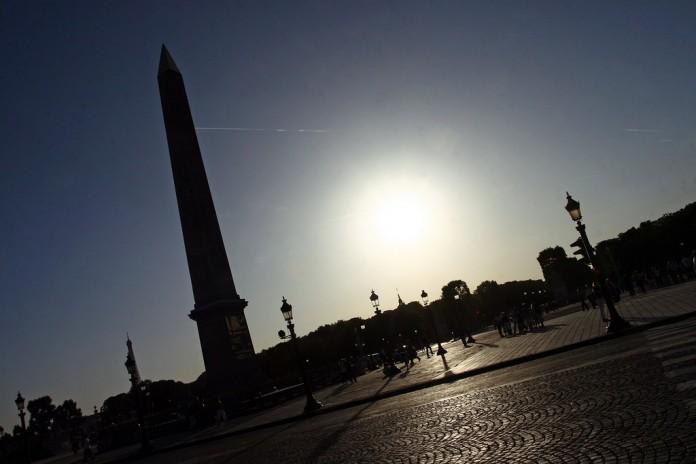 Sonnenuhr Concorde 1