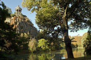 Buttes Chaumont Park Picknick Paris
