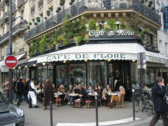Sartre De Beauvoir Cafe