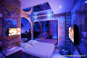 Love Hotel Zimmer Paris mal anders