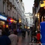 Bastille rue de Lappe Paris Ausgehen