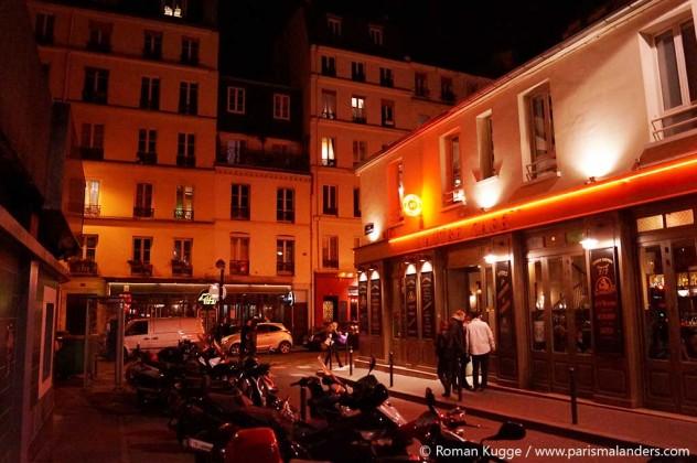 Paris-Viertel Ausgehen Oberkampf