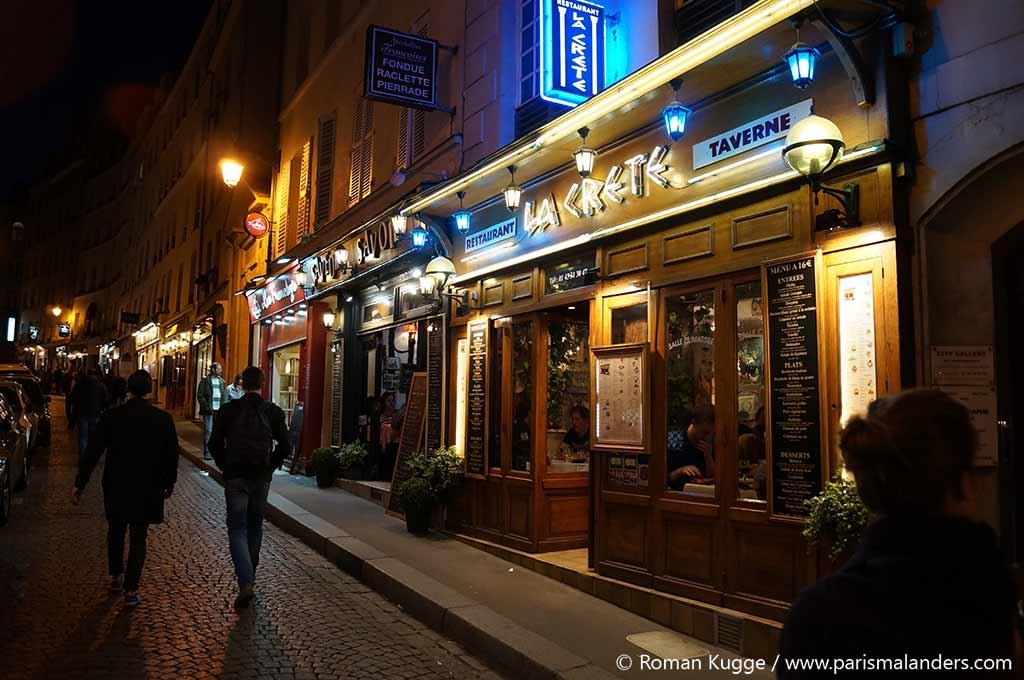 Montmartre Moulin Rouge Paris Nachtleben