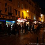 Rue Mouffetard Ausgehen Paris Au Petit Grec