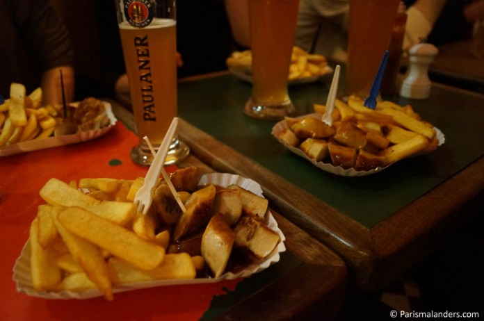 Geheimtipp Cafe Titon Paris Currywurst