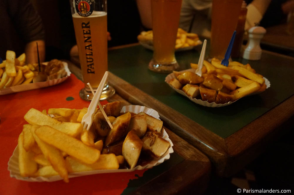 Geheimtipp Cafe Titon Paris Currywurst