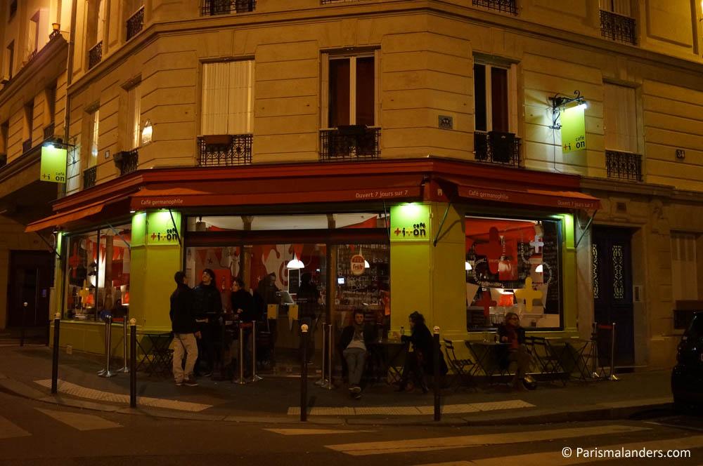 Insidertipp Cafe Titon Paris Kneipe