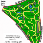 Plan Zoo Paris Vincennes