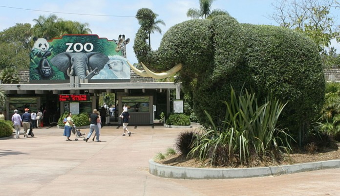 Zoo Vincennes Eingang