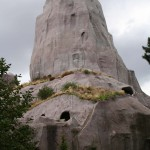 Zoo Vincennes Grand Rocher großer felsen