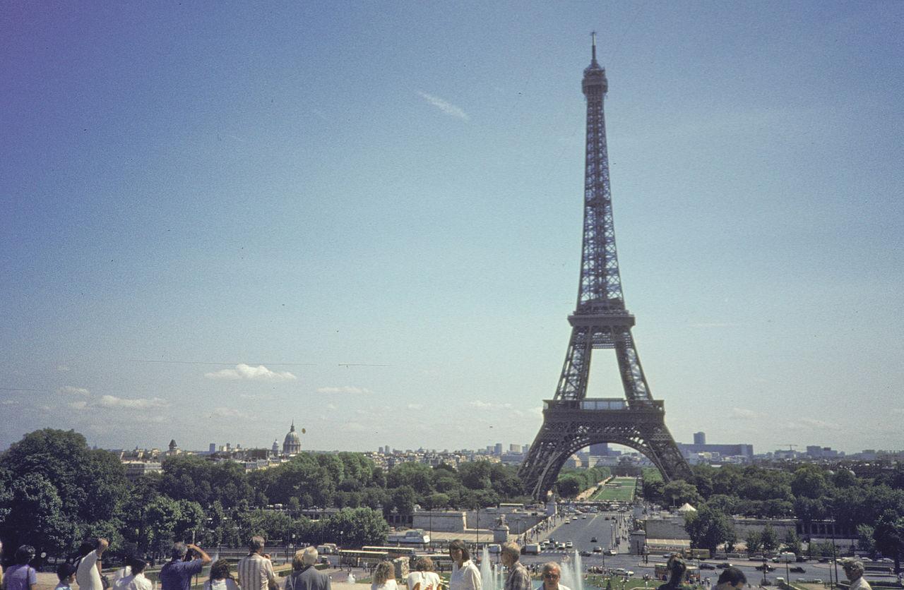 Vergleich höchsten Gebäude der Welt Eiffelturm