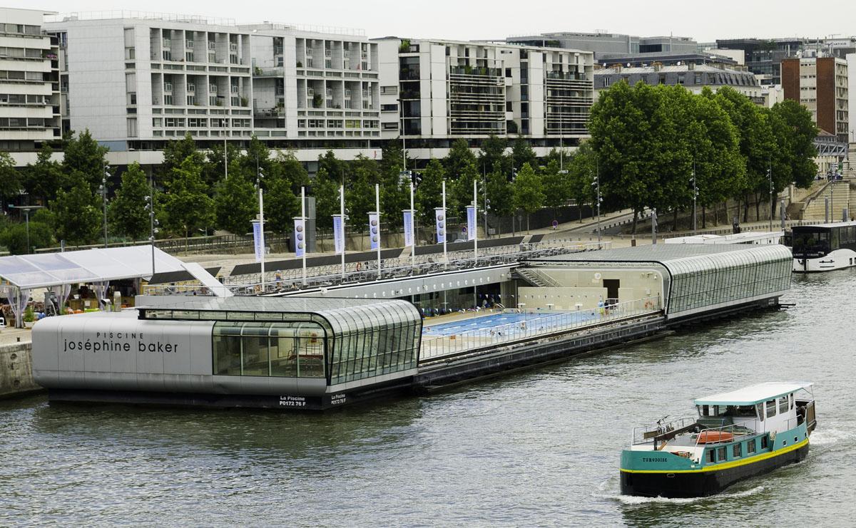 Die sch nsten freib der paris und das schwimmbad auf der - Piscine des tourelles paris ...