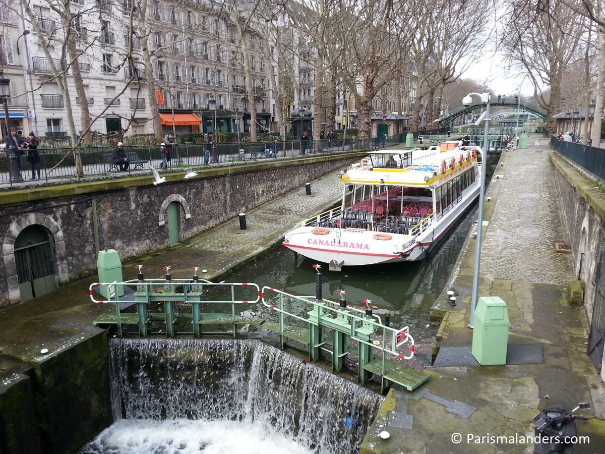 Canal Saint-Martin Paris mal anders