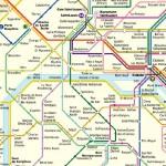 Metroplan Paris Ausschnitt