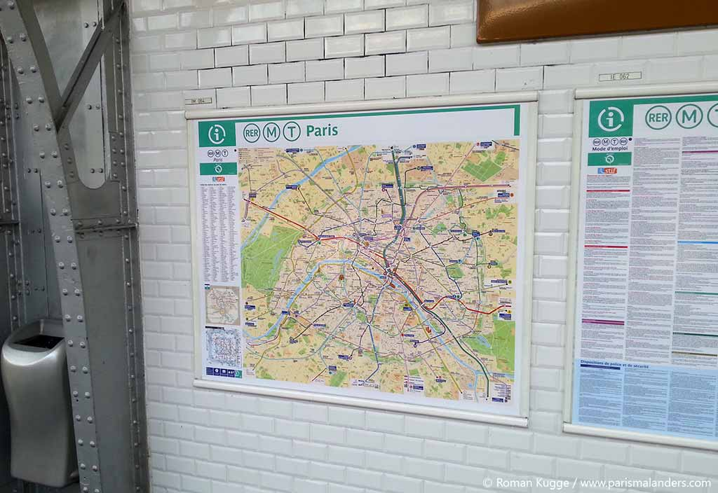Paris Metro Plan