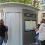 Öffentliche Toilette Paris