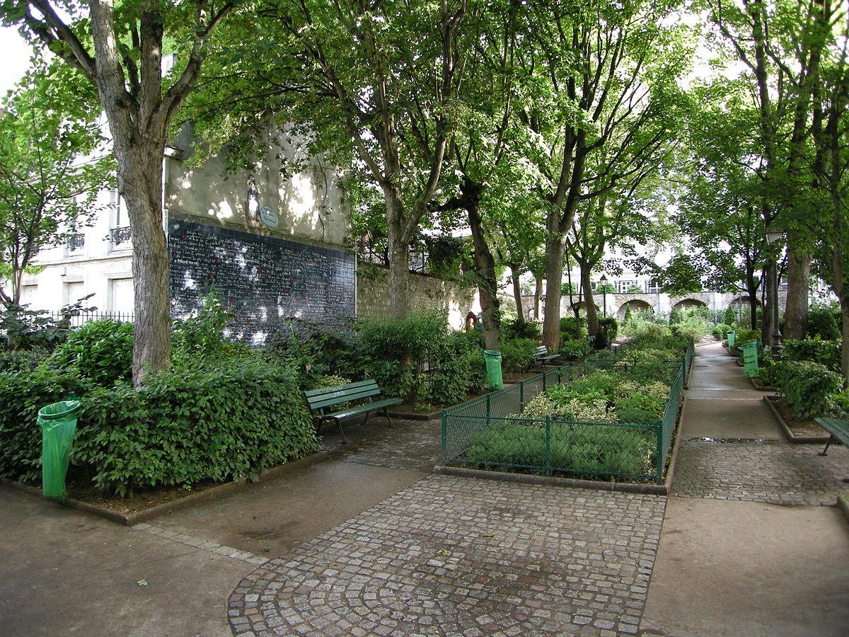 Mur des Je t'aime Paris Urlaubstipp