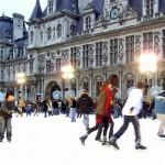 Schlittschuhlaufbahn Hotel de Ville
