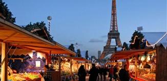 Weihnachtsmarkt Eiffelturm