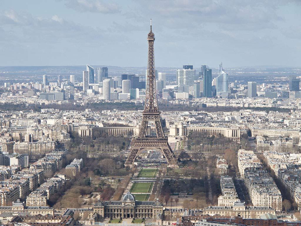 Eiffelturm-Trocadero