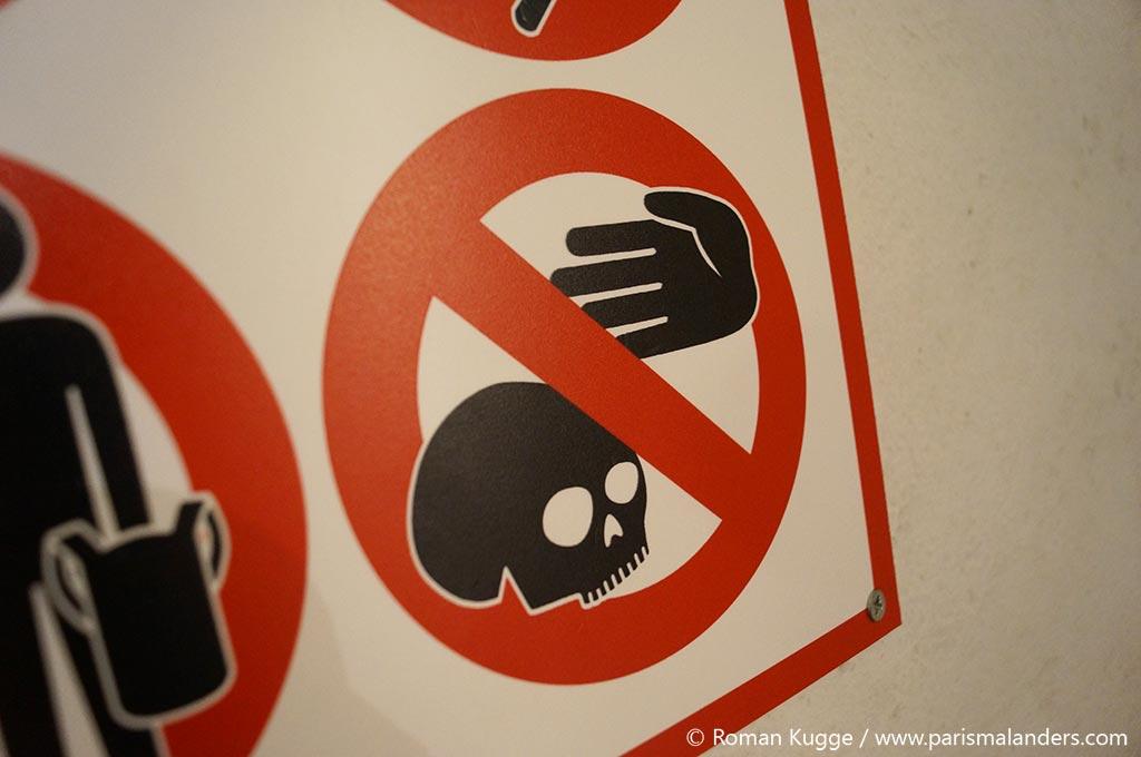 Katakomben Paris Verbot Interdit