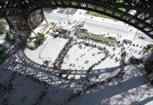 Warteschlangen am Eiffelturm Wartezeiten