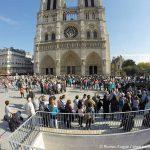 Wartezeiten Notre Dame Paris