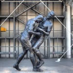Zinedine Zidane Statue Paris