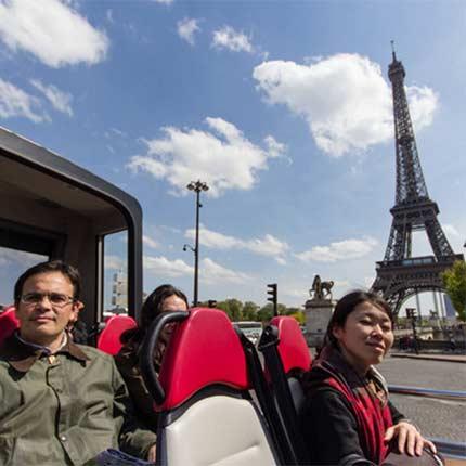 Bus-Stadtrundfahrt-Paris-Ticket