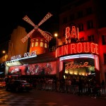 Paris Moulin Rouge Kabarett