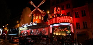 Paris Moulin Rouge Kabarett