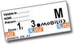 Ticket Mobilis Paris