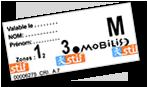 Ticket Mobilis Paris
