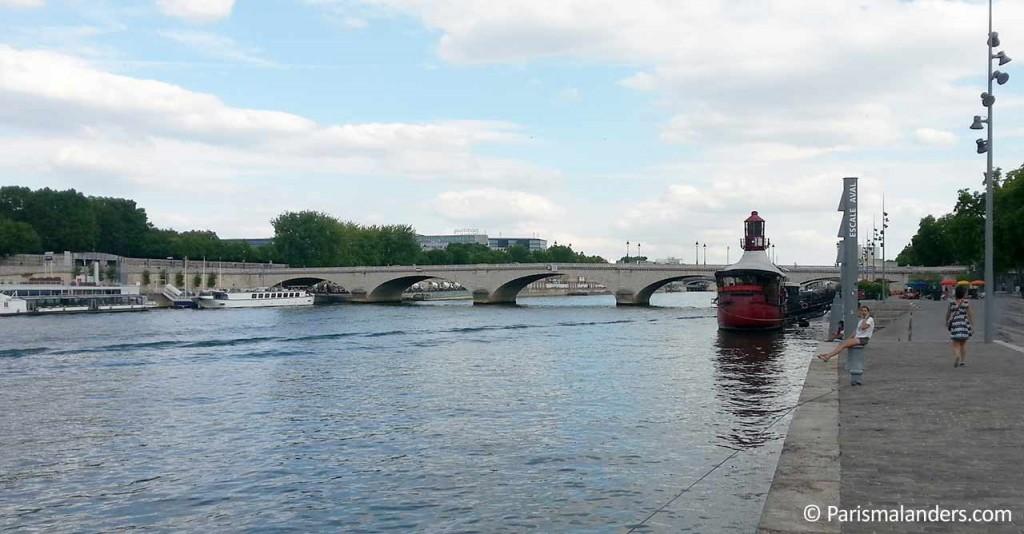 Batofar Paris Seineufer Quai de la Gare