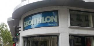 Decathlon Sportgeschäft Paris Eingang