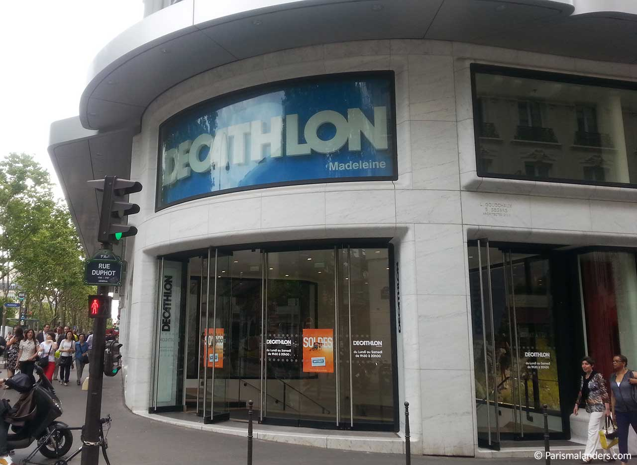 Decathlon Sportgeschaeft Paris