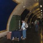 Dreharbeiten Paris Metro Film