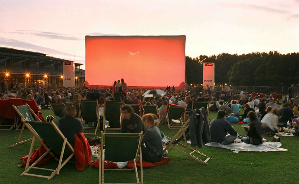 Open Air Kino La Villette