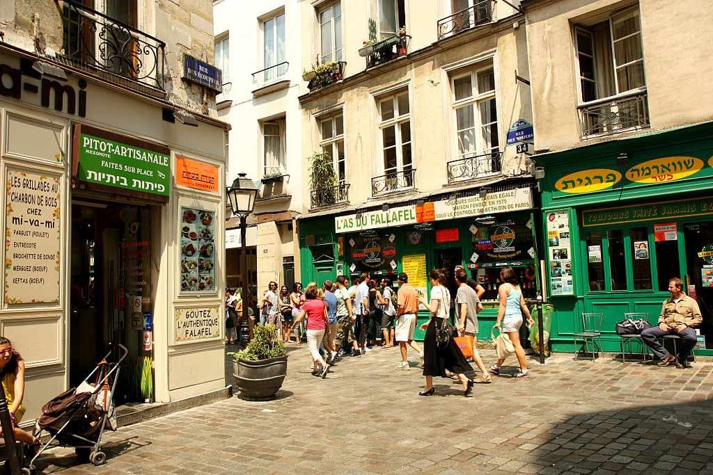 Das Marais: Gay und schwule Viertel in Paris