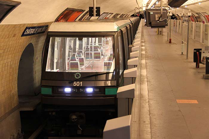 Linie 1 und 14 Metro Paris U-Bahn