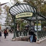 Metrostation Abbesses Paris