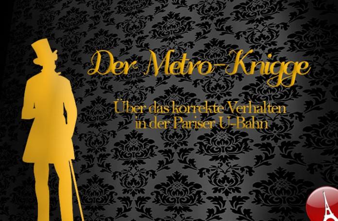 Paris Metro Knigge Verhaltensregeln