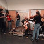 Paris Metro Strassen Musiker