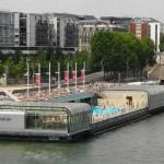 Schwimmbad Joséphine Baker Paris Quai de la Gare