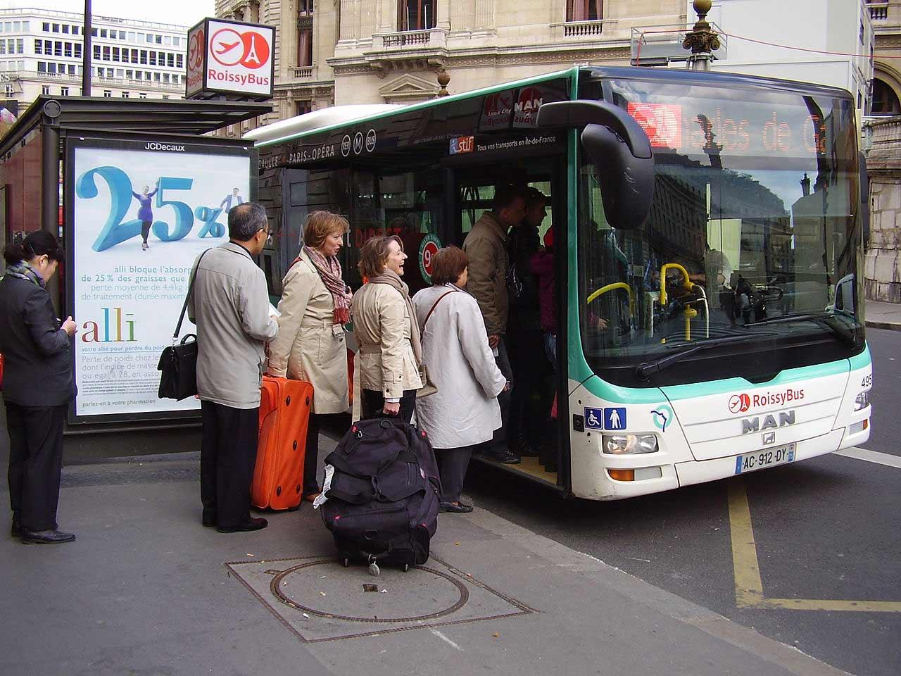Flughafentransfer RER Paris Charles de Gaulle
