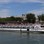 Bateaux Mouches Schifffahrt Seine Paris