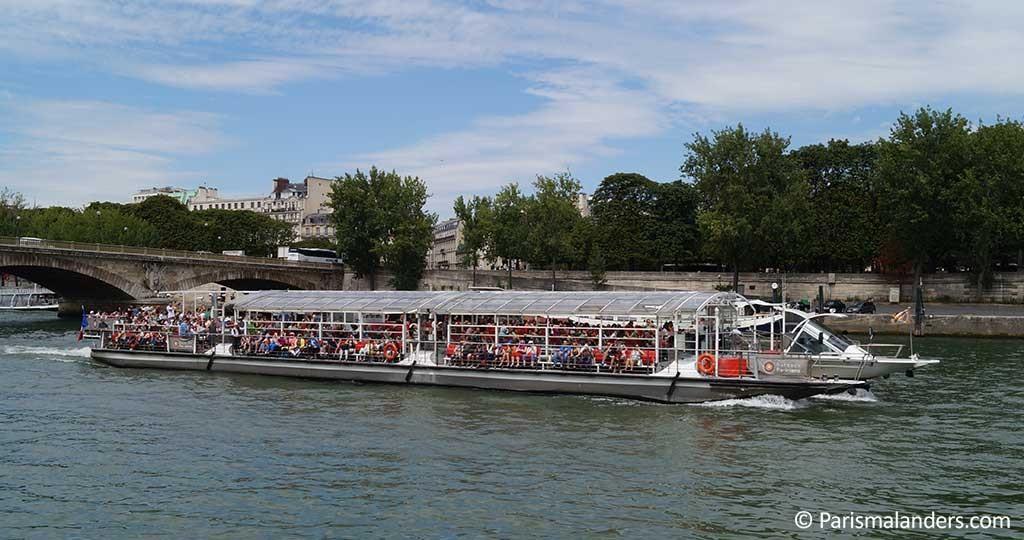 Bateaux Parisiens Seine Bootsfahrt Paris