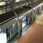 Metro Paris Behinderte Rollstuhlfahrer