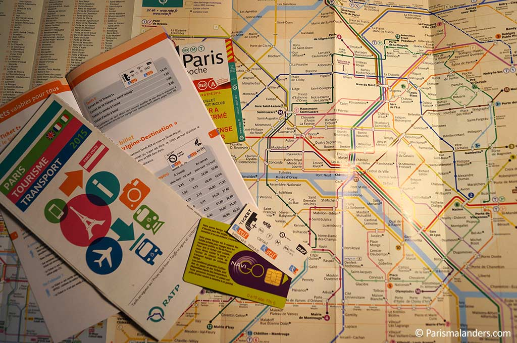 Ticketautomaten Paris Metro