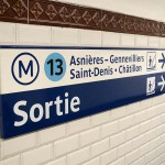 Schilderung Metro Paris